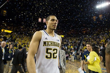 Ex-Michigan forward Jordan Morgan played a school-record 142 games in his career with the Wolverines.