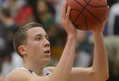 Duncan Robinson averaged 17.1 points, 6.5 rebounds and 34.7 minutes last season as a freshman forward at Williams College.