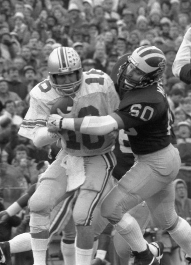 Former Michigan defensive end Mark Messner (above) landed alongside fellow ex-Wolverines Rob Lytle and Jumbo Elliott on the 2015 College Football Hall of Fame ballot released on Thursday.