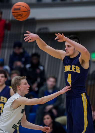 Hudsonville senior forward Brent Hibbitts is heading to Michigan as a preferred walk-on.