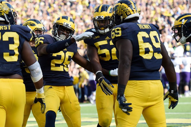 Michigan corner Jourdan Lewis says he's interested in his degree, not an early departure for the NFL draft.