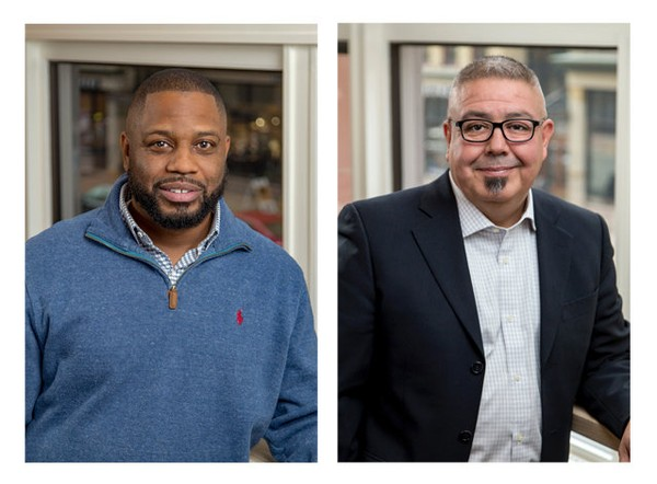 Darel Ross II and Jorge Gonzalez are joining Start Garden's leadership team. (Courtesy | Start Garden)