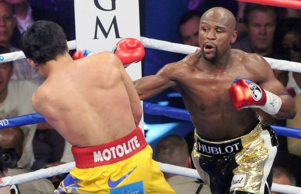 Floyd Mayweather and Manny Pacquiao fought in May 2015. It was the richest fight in boxing history. (Cory Olsen   MLive.com)