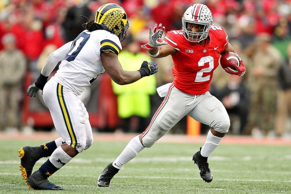 Ohio State had an impressive win over Michigan, but the committee still isn't impressed enough to put the Buckeyes in the top four. (Mike Mulholland | MLive.com)