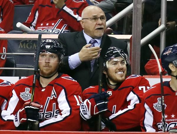 Where will Barry Trotz be coaching next season? (Alex Brandon | AP Photo)
