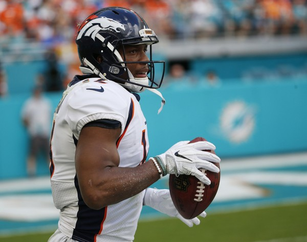 Bennie Fowler won a Super Bowl ring with the Denver Broncos. (Wilfredo Lee | AP Photo)