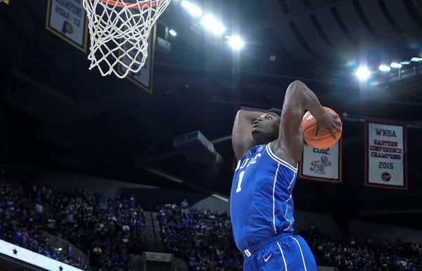 Zion Williamson is more than a dunker. But he can really fly, too. (AJ Mast | AP Photo)