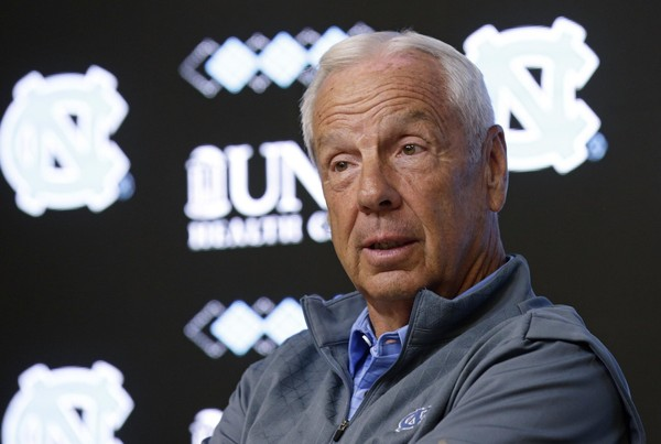 Roy Williams says he's never had a recruit ask for money. (Gerry Broome | AP Photo)