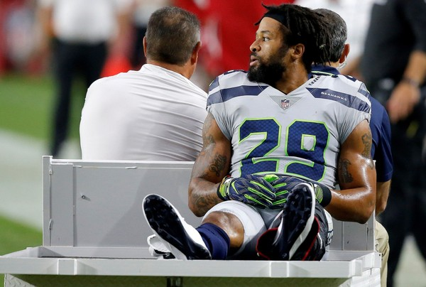 Earl Thomas' season is over and his time in Seattle appears finished, too. (Ross D. Franklin | AP Photo)