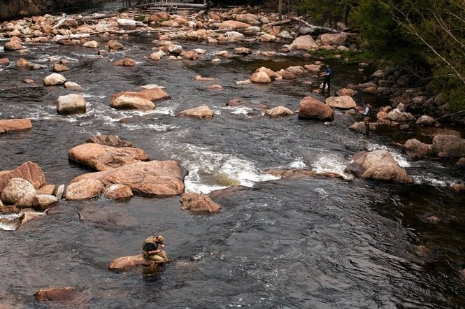 West Branch of Ausable River: Adirondacks has 1 of best fly