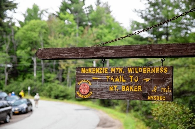 Up and down peaks of Adirondacks with Saranac Lake 6ers