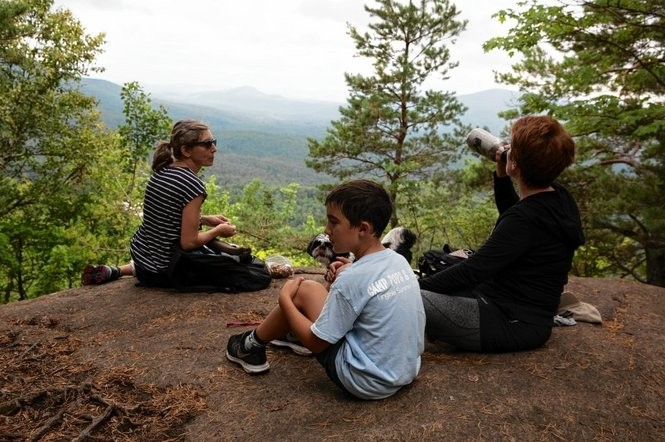 Up and down peaks of Adirondacks with Saranac Lake 6ers