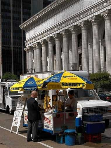 Food trucks in Albany.