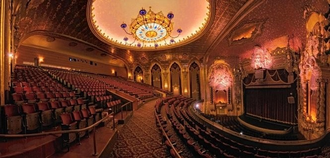 The Stanley Theatre in Utica, NY. Photo courtesy of The Stanley Theatre