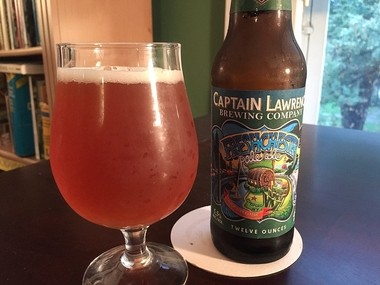 From Captain Lawrence Brewing Co. in Westchester County: Freshchester Pale Ale, the brewery's flagship beer.