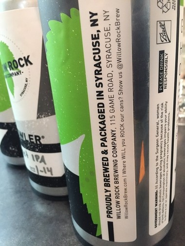 Willow Rock Brewing Co. sells much of its beer in crowlers, which are 32-ounce cans filled and sealed to order at the tasting room.