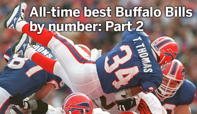 low priced f980a 915cd All-time best Buffalo Bills by jersey number: Part 2 (34-66 ...