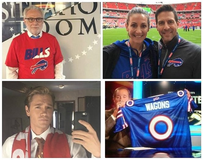 Wholesale The most famous Buffalo Bills fans: Chad Michael Murray, Shooter  for cheap
