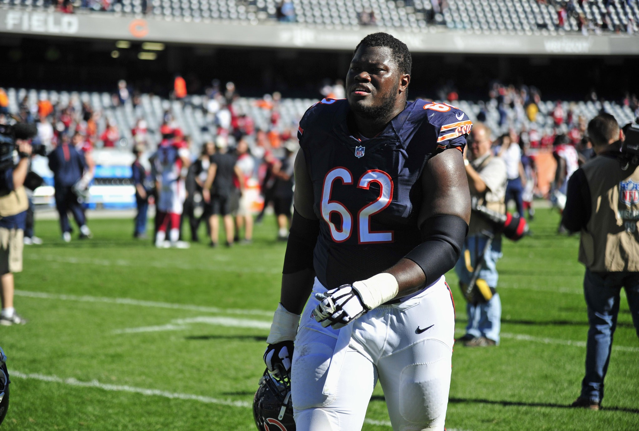 Can Buffalo Bills OL Vladimir Ducasse compete at right tackle ...