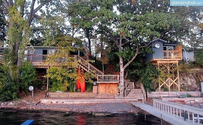 Tremendous 10 Quirky Vacation Rentals In Upstate Ny Treehouses Download Free Architecture Designs Licukmadebymaigaardcom
