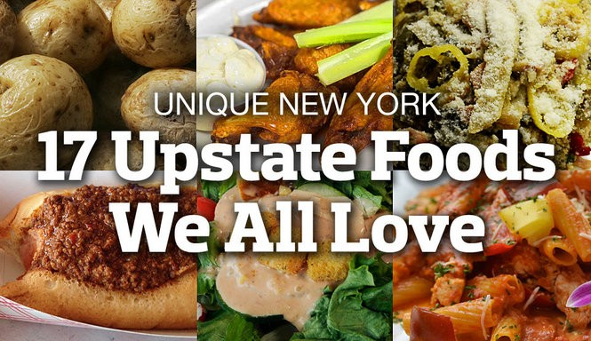 Unique New York: 17 foods from Upstate NY that we all love