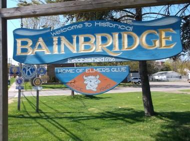 Bainbridge, NY.