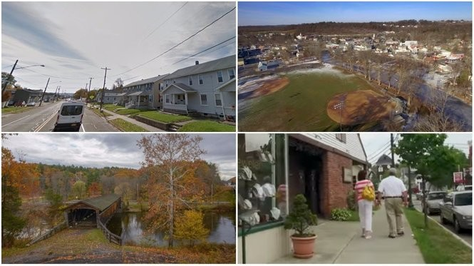 The richest places in each of New York's 62 counties