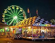 A scene at the Erie County Fair.