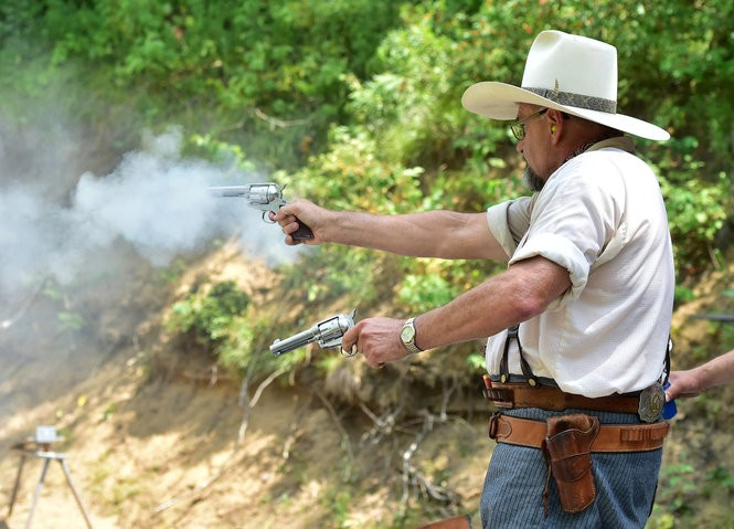 2c4f8da5f07fe Cowboy Action shooting has been offered at the Kayaderosseras Fish and Game  Club in Ballston Spa