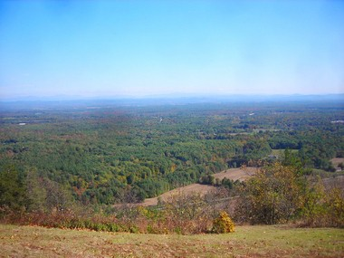 """Grant's Last View"" at Eastern Overlook in Saratoga County."