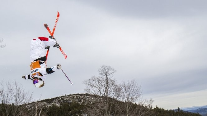 2015 FIS Freestyle World Cup - Mogul competition. Lake Placid, NY.