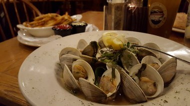 Littleneck clams at Great Adirondack Steak and Seafood in Lake Placid.