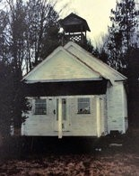 Happy Valley school house on Happy Valley Road build 1867, Albion, N.Y. Photo Courtesy of Williamstown Historical Society