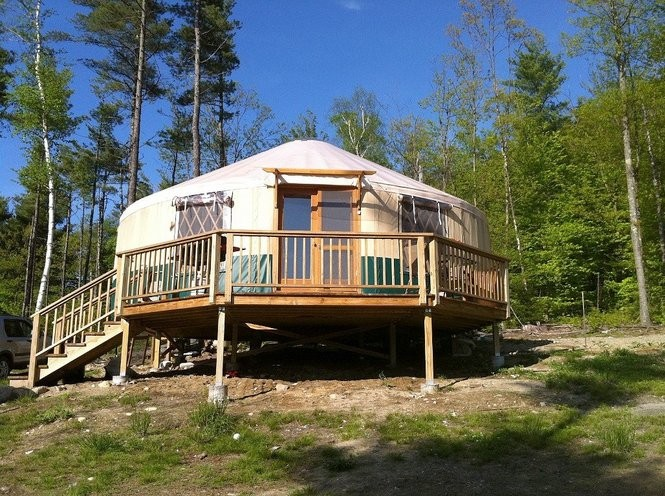 Want to sleep in a yurt on your next Upstate NY vacation