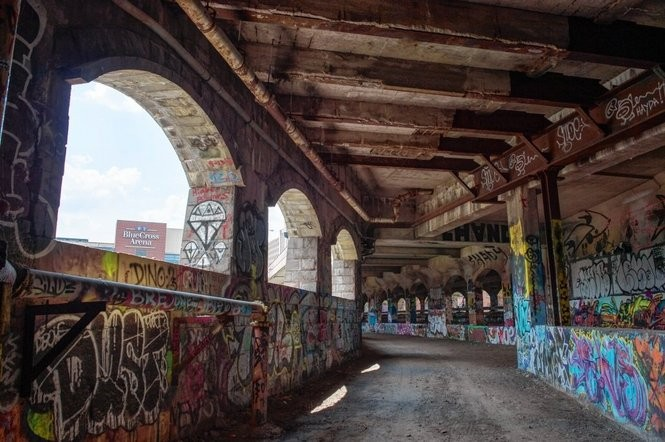 Rochester Abandoned Subway Map.Rochester Subway Tour The Abandoned Tunnel Now Covered With