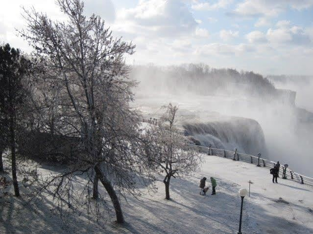 Niagara Falls State Park is a must-see destination, especially in winter.
