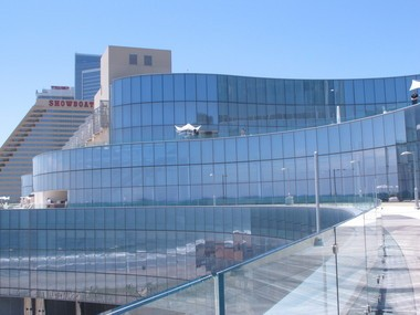 This May 30, 2014 photo shows the former Revel Casino Hotel in Atlantic City. (AP | Wayne Parry)