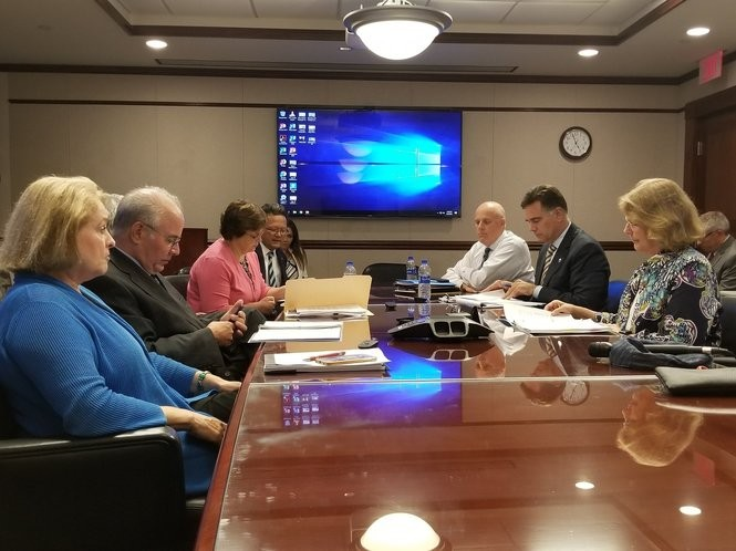 The Stockton University Board of Trustees voted unanimously to move forward with the plan to purchase the property that currently holds the former Atlantic Club Casino and Hotel