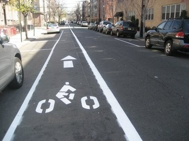 The state's Complete Street policy creates safer paths for bicyclists, as well as pedestrians.