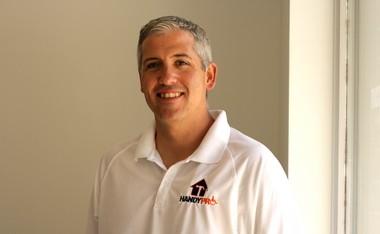Bill Harvey, owner of the Bergen County franchise of HandyPro.