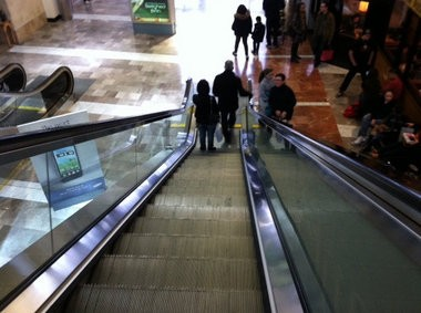 The family of a 10-year-old girl is suing Macy's after she was hurt by an escalator in the Garden State Plaza store.