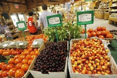 The farmstand at Demarest Farms. (File Photo)