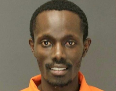 Eric Kipkemei Chirchir, 31, of Hasbrouck Heights, ran five miles to his home after police confronted him about an alleged incident of criminal sexual contact at his place of work. (Photo courtesy of Bergen County Sheriff's Department)