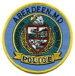 Aberdeen, Maryland police patch.