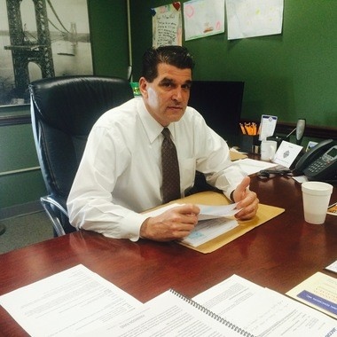 Fort Lee Mayor Mark Sokolich. (Tim Darragh | NJ Advance Media for NJ.com)