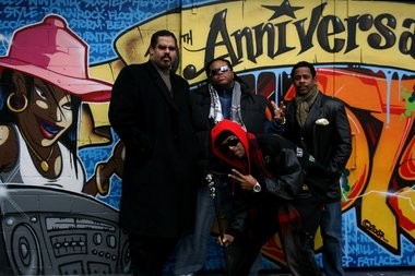 Joseph Robinson Jr., who helped run the acclaimed New Jersey label that released the debut album by the Sugarhill Gang, pictured here, died Saturday at his Tenafly home.