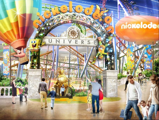 Triple Five and Nickelodeon announced plans to open a Nickelodeon Adventure Theme Park at American Dream Meadowlands. (Triple Five)
