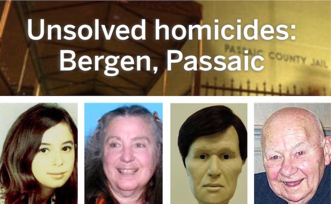 11 unsolved homicides in Bergen and Passaic counties - nj com