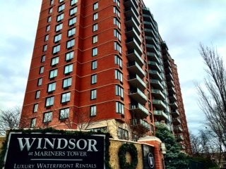 The Windsor at Mariners Tower in Edgewater where a man killed his wife, daughter in apparent murder-suicide, cops say.