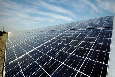 The installation of thousands of solar panels on the roof of the warehouse in Delanco township hampered firefighting efforts from Sunday afternoon until Monday evening, officials said. A Star-Ledger file photo of solar panels.